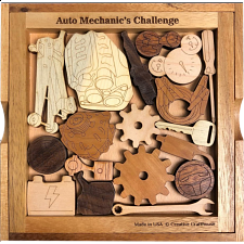 Auto Mechanic's Challenge - Other Wood Puzzles