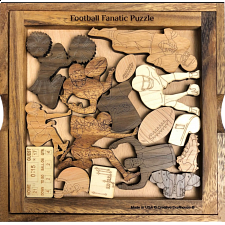 Football Fanatic Puzzle - Other Wood Puzzles