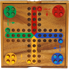 Ludo (Parchesi, Aggravation) - Board Games