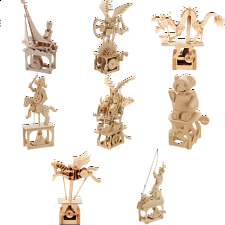 Group Special - Set of 8 ARToy Moving Model Kits - Specials