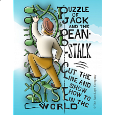 Puzzle of Jack and the Bean Stalk -