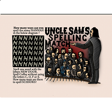 Uncle Sam's Spelling Match -