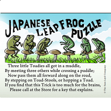 Japanese Leapfrog Puzzle - Search Results