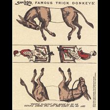 Famous Trick Donkeys - Color Puzzle Master Logo -
