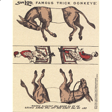Famous Trick Donkeys - Color Puzzle Master Logo