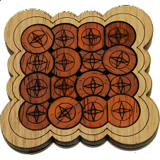 Circles - European Wood Puzzles