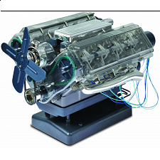 V8 Combustion Engine Model Kit