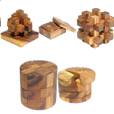 Group Special - a set of 5 XS HeadStress puzzles