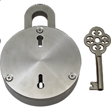 Swing Lock - Metal - Puzzle Locks