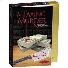 Murder Mystery - A Taxing Murder - 1000 Pieces