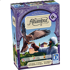 Alhambra Expansion 6 The Falconers - Board Games