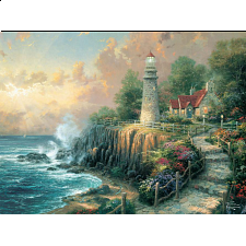 Thomas Kinkade - The Light of Peace