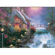 Thomas Kinkade - Sweetheart Cottage II