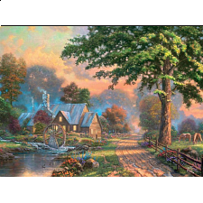 Thomas Kinkade - Simpler Times II - 1000 Pieces