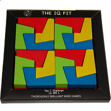 IQ Fit - The L Challenge - Tangram Puzzles