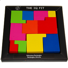 IQ Fit - Ridiculous Rectangles - Other Wood Puzzles