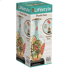 Lifestyle 3D Puzzle Vase - Autumn Trees - 101-499 Pieces