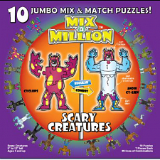 Mix-A-Million: Scary Creatures - Beginning Skills & Activities