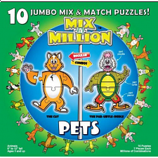 Mix-A-Million: Pets - Beginning Skills & Activities
