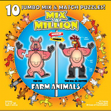 Mix-A-Million: Farm Animals - Beginning Skills & Activities