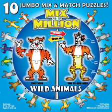 Mix-A-Million: Wild Animals - Beginning Skills & Activities