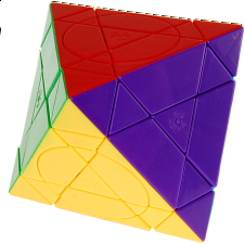 Crazy Octahedron Plus - Stickerless - Mercury - Other Rotational Puzzles