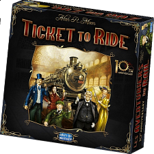 Ticket to Ride - 10th Anniversary Edition - Games & Toys