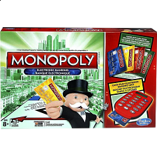 Monopoly: Electronic Banking - 4 Player Edition - Strategy Games
