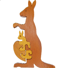 Kangaroo - Other Wood Puzzles