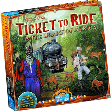 Ticket to Ride: The Heart of Africa - Games & Toys
