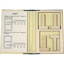 Puzzle Booklet - 2x4 T - Packing Puzzles