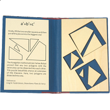 Puzzle Booklet - a2+b2=c2 - European Wood Puzzles