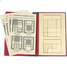 Puzzle Booklet - Classic Sliding Pieces - Wood Puzzles