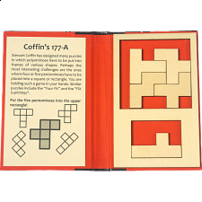 Puzzle Booklet - Coffin's 177-A - Peter Gál
