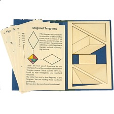 Puzzle Booklet - Diagonal Tangrams - Packing Puzzles