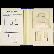 Puzzle Booklet - Five Easy Pieces -