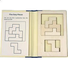 Puzzle Booklet - Five Easy Pieces - Peter Gál