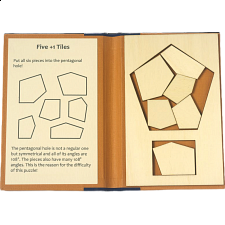 Puzzle Booklet - Five +1 Tiles - Wood Puzzles
