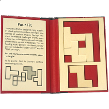 Puzzle Booklet - Four Fit - Wood Puzzles