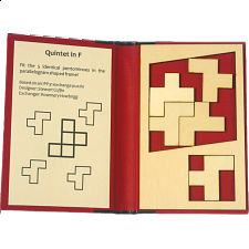 Puzzle Booklet - Quintet in F -