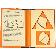 Puzzle Booklet - Square to Triangle - European Wood Puzzles