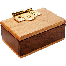 Mini Secret Puzzle Box - Wooden Puzzle Boxes