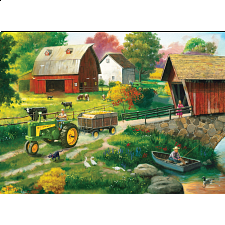 John Deere - Country Side - 1000 Pieces
