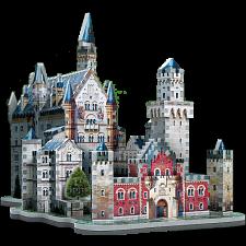 Neuschwanstein Castle - Wrebbit 3D Jigsaw Puzzle -
