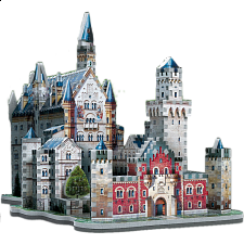 Neuschwanstein Castle - Wrebbit 3D Jigsaw Puzzle - 500-999 Pieces