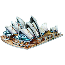 Sydney Opera House - Wrebbit 3D Jigsaw Puzzle - 500-999 Pieces