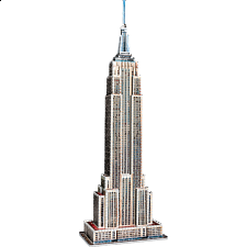 Empire State Building - Wrebbit 3D Jigsaw Puzzle - 3D