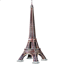 Eiffel Tower - Wrebbit 3D Jigsaw Puzzle -