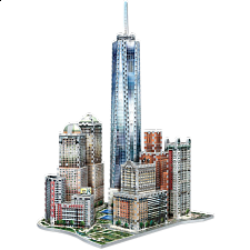 New York Collection: Downtown World Trade - Wrebbit 3D Jigsaw -