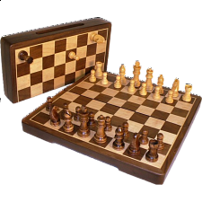12 Inch Magnetic Folding Chess Set - Games & Toys